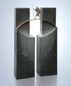 moderner Grabstein der Fa. Strassacker 1